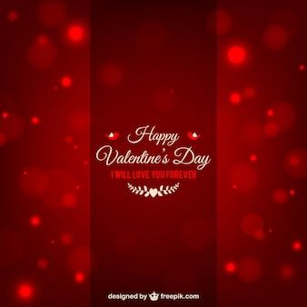 Ik zal altijd van je houden valentijnsdag kaart
