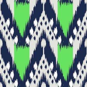 Ikat naadloos patroon als doek, gordijn, textielontwerp, behang, oppervlaktetextuurachtergrond