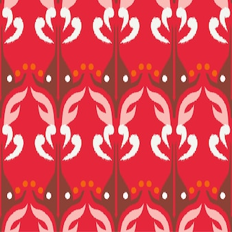 Ikat naadloos patroon