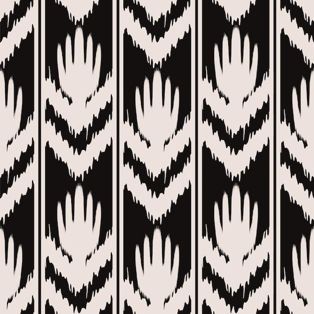 Ikat naadloos patroonontwerp voor stof
