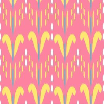 Ikat naadloze patroon ontwerp