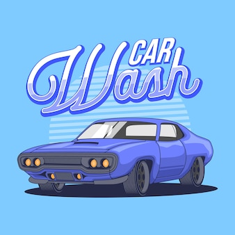 Illustrastion carwash-spier