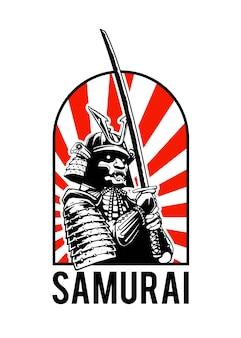 Illustratie concept van samoerai