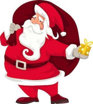 Illustratie de kerstman