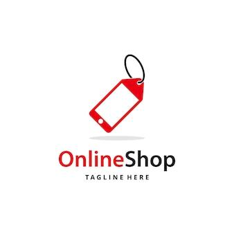 Illustratie prijskaartje bord met zakelijke online winkel product pictogram grafisch ontwerp