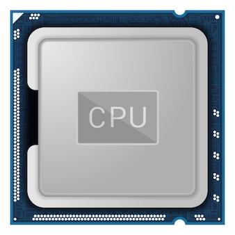 Illustratie processor