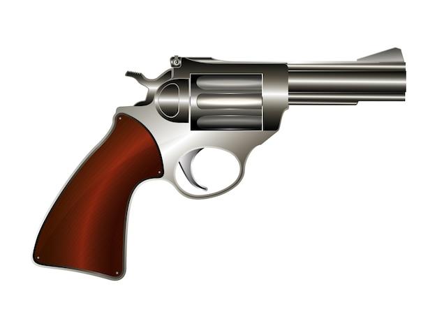 Illustratie revolver