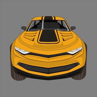 Illustratie sportwagen
