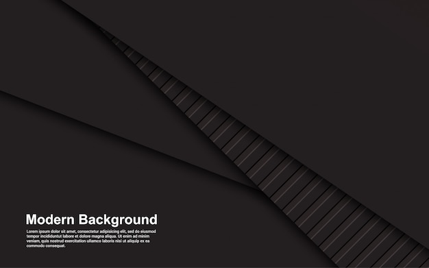 Illustratie van abstracte zwarte en bruine kleur als achtergrond