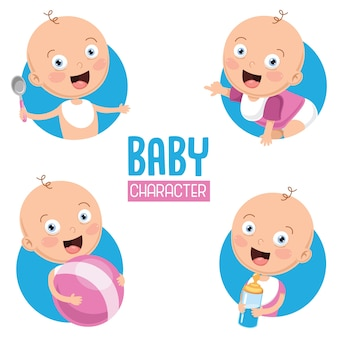 Illustratie van baby