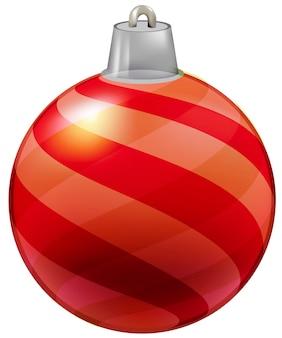 Illustratie van bauble voor kerstboom decoratie