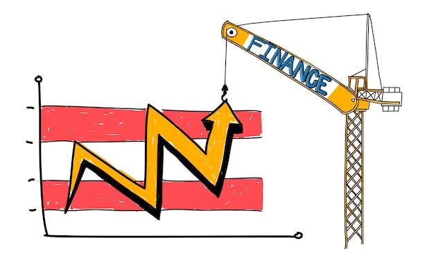 Illustratie van bedrijfsconcept