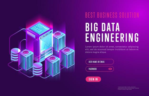 Illustratie van big data-engineering