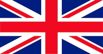 Illustratie van Britse vlag