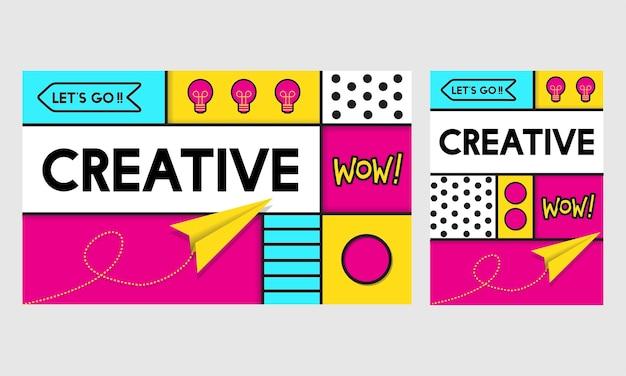 Illustratie van creatieve ideeën