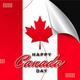 Illustratie van de dag van canada
