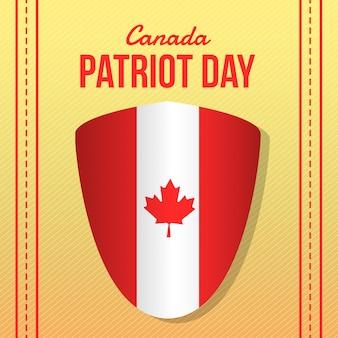 Illustratie van de de patriotdag van canada