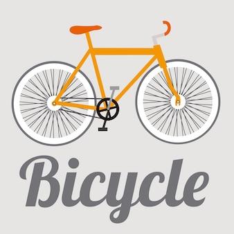 Illustratie van de fiets