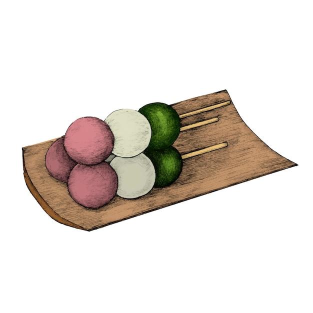Illustratie van de japanse keuken