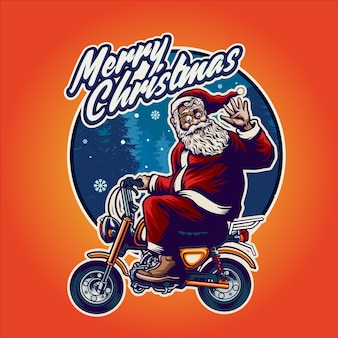 Illustratie van de kerstman