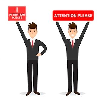 Illustratie van de mens in bureaukleren die raad in vlakke stijl houden