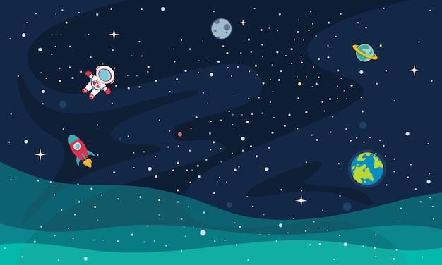 Illustratie van de ruimte