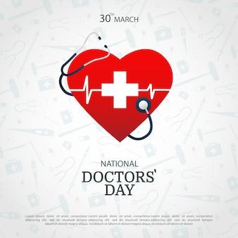 Illustratie van doctors day.