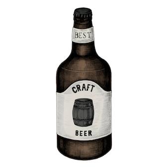 Illustratie van een ambachtelijk bier