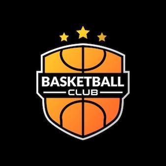 Illustratie van een basketbal. goed voor het logo van het basketbalteam of andere zaken die met sport te maken hebben.