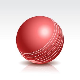 Illustratie van een cricket ball