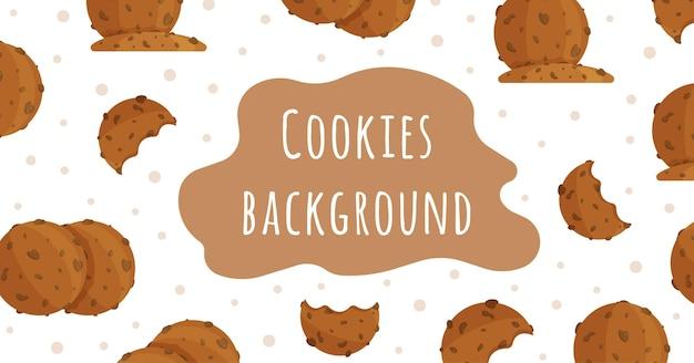 Illustratie van een koekjesbanner