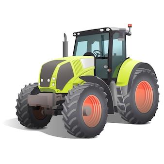 Illustratie van een tractor