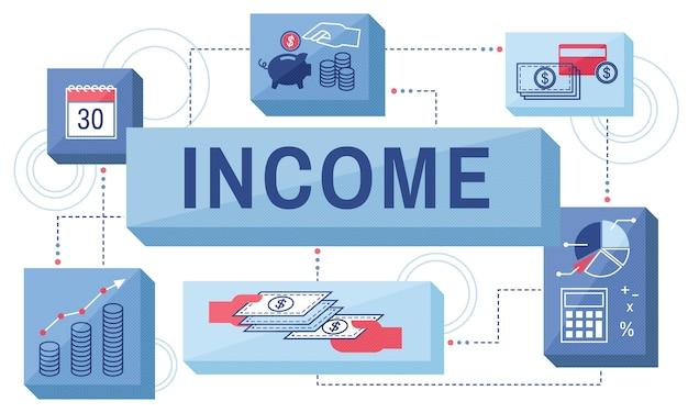 Illustratie van financieel concept