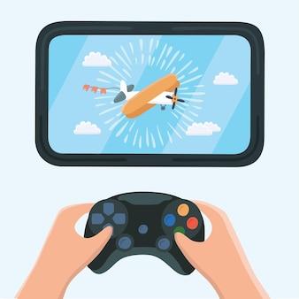 Illustratie van gaming concept