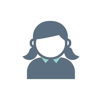 Illustratie van gebruiker avatar pictogram