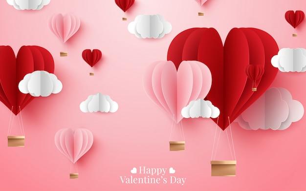 Illustratie van happy valentine's day