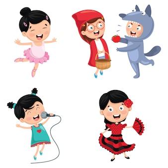 Illustratie van kinderen art