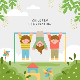 Illustratie van kinderen