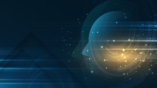 Illustratie van kunstmatige intelligentie
