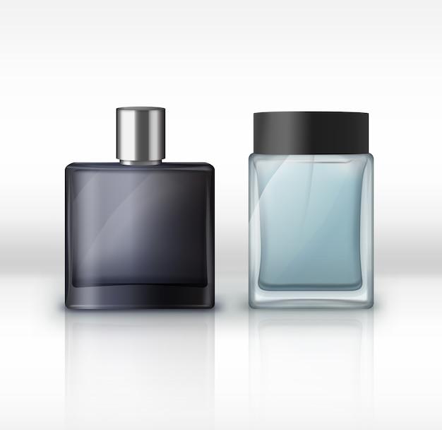 Illustratie van mannen parfumflesjes