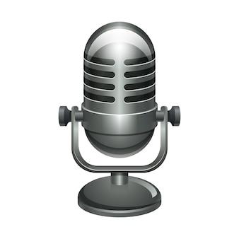 Illustratie van microfoon