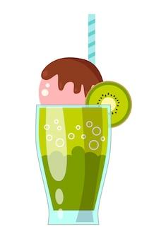 Illustratie van milkshake