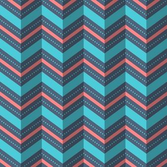 Illustratie van naadloos geometrisch patroon