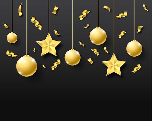 Illustratie van nieuwe jaar 2018 achtergrond