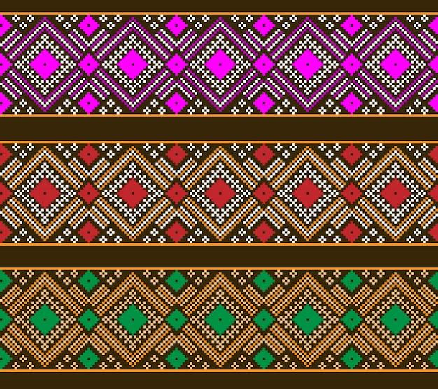 Illustratie van oekraïense folk naadloze patroon ornament