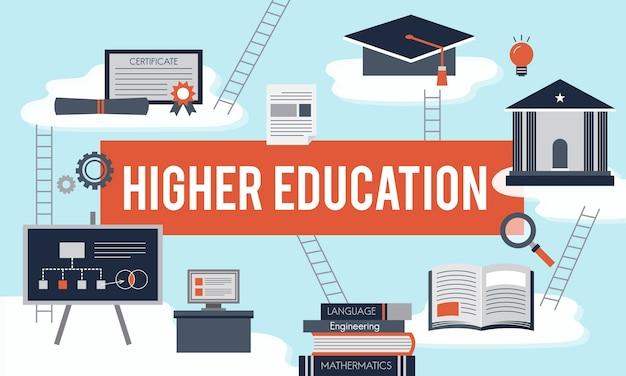 Illustratie van onderwijsconcept