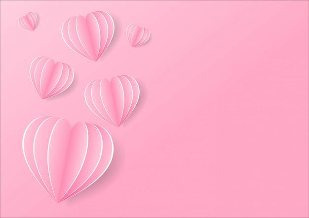 Illustratie van origami gemaakt hete luchtballon