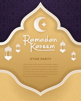 Illustratie van ramadan kareem