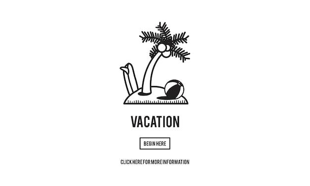Illustratie van reisconcept