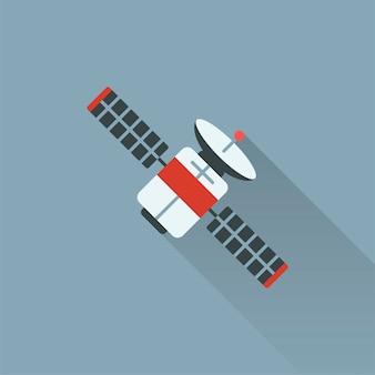 Illustratie van satelliet